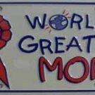 LP-402 World's Greatest Mom License Plate