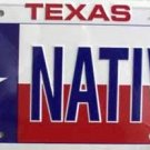 LP-176 Texas Native License Plate