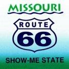 LP-2106 Missouri State Background License Plates - Route 66