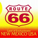 LP-2107 New Mexico State Background License Plates - Route 66