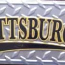 LP-291 Pittsburgh License Plate