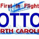 LP-2119 North Carolina State Background License Plates - COTTON