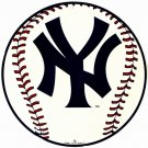 C-005 NY Yankees Circular Baseball Sign