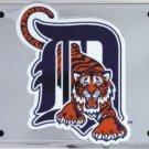 LP-1021 Detroit Tigers MLB Chrome License Plate