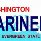 LP-2087 Washington State Background License Plates - Mariners