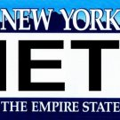 LP-2088 New York State Background License Plates - Mets