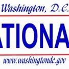 LP-2091 Washington DC State Background License Plates - Nationals