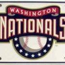 LP-585 Washington Nationals MLB Baseball License Plate