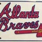 LP-586 Atlanta Braves MLB Baseball License Plate