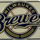 LP-609 Milwaukee Brewers MLB Baseball License Plate