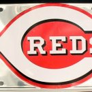 LP-633 Cincinnati Reds Premium Chrome License Plate