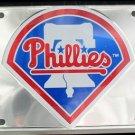 LP-638 Philadelphia Phillies Premium Chrome License Plate