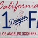LP-646 Dodgers #1 Fan License Plate