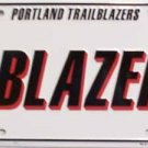 LP-666 Portland Trailblazers License Plate