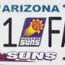 LP-683 Suns #1 Fan License Plate