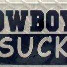 LP-1132 Cowboys Suck License Plate