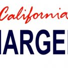 LP-2035 California State Background License Plates - Chargers