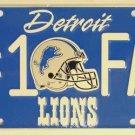 LP-736 Lions #1 Fan License Plate