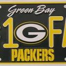 LP-754 Packers #1 Fan license Plate