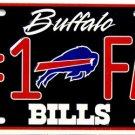 LP-758 Bills #1 Fan License Plate