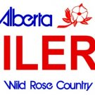 LP-2066 Alberta Canada Province Background License Plates - Oilers