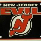 LP-784 New Jersey Devils License Plate