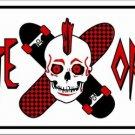 LP-1170 Skate or Die - Skateboarding License Plate