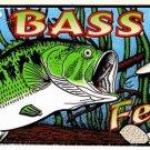 LP-399 Bass Fever License Plate