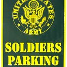 LGP-011 12 X 18 Soldiers Parking Only (Army) Signs