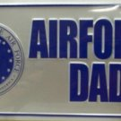 LP-1108 US Air Force AF Dad License Plate