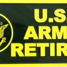 LP-113 US Army Retired License Plate