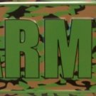 LP-1195 US ARMY Camo Camoflage License Plates