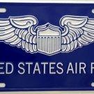 LP-126 US Air Force License Plate