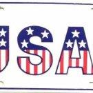 LP-132 USA - 1 License Plate