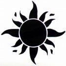 "DEC-082L Sun Vinyl Decal Graphic - approx 8"""
