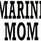 "DEC-068L MARINE MOM Vinyl Decal Graphic - approx 8"""