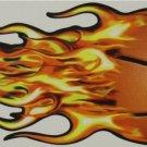 "DEC-094 Basketball Fireball Full Color 12"" Vinyl Decal Graphic"