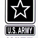 """DEC-055S US ARMY WIFE Vinyl Decal Graphic - approx 4"""""""