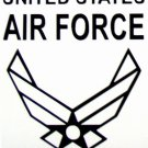 """DEC-048M AIR FORCE Vinyl Decal Graphic - approx 6"""""""