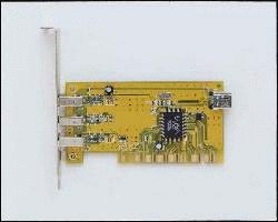 3 Ext + 1 int Port Fire Wire PCI Card