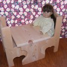 Table & Chair Set - American Girl Doll Furniture