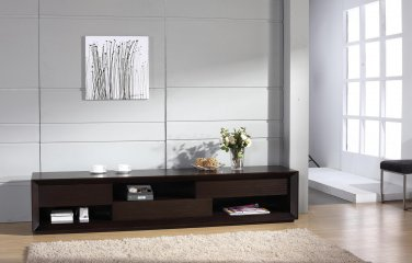 Bay Modern TV Stand in Wenge