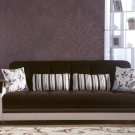 Natural in Colins Dark Brown Sleeper Sofa