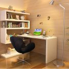 Urban Modern Desk With Shelf Space