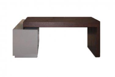 Heston Two Tone Modern Office Desk