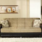 Luna Sofa bed in Fulya Brown