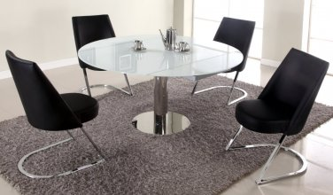 Chintaly Tami 5 Piece Extendable Dining Set