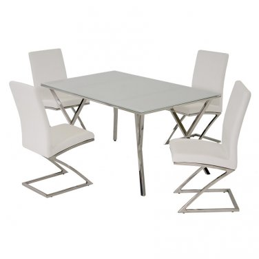 Jade 5 Piece Dining Set by Chintaly
