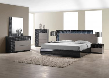 Roma 6pc King Bedroom Set by J&M
