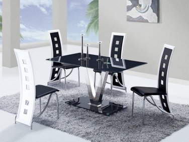 D551DT-D803DC-BL 5pc Dining Set by Global